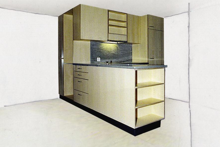 Ahorn Küche